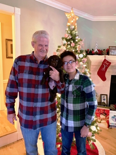 Christmas Wishes and New Year Deams - The Old Man & the boy